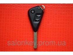 Ключ Subaru оригинал вид гитара 3 кнопки 433Mhz чип 4D id62 лезвие Dat17