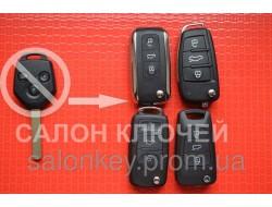 Ключ Subaru в выкидном корпусе. Вид ромб 3 кнопки 433Mhz чип 4D id62 лезвие Dat17. P\N: 88049SC000