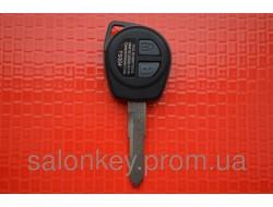 Ключ Suzuki Swift с чипом и кнопками