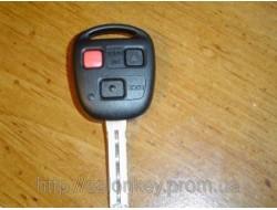 Ключ Lexus 3кнопки FCC ID:N14TMTX-1 312Mhz