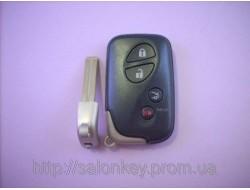 Ключ Lexus 4кнопки FCC ID:HYQ14AAB 314,3Mhz