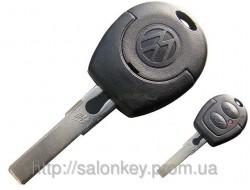 Ключ Volkswagen 2 кнопки 433Мгц 48ID