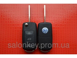 Ключ volkswagen touareg с электроникой 434Мгц ID46