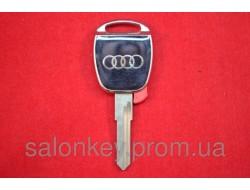 AUDI ключ с местом под чип HU49 серебро. вид №4