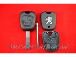Peugeot ключ 307, 308, 3008 Корпус ключа лезвие HU83 оригинал
