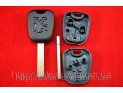 Ключ Peugeot 107, 206, 307, 308, 407, 3008, partner c местом под чип лезвие VA2 оригинал