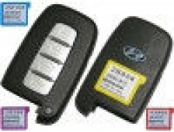 Смарт ключ Hyundai 4 кнопки 433mhz id46