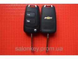 Ключ Chevrolet epica, evanda выкидной с чипом ID60 434Mhz. Вид№1