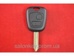 Ключ Citroen berlingo корпус 2 кнопки лезвие SХ9 Вариант 1