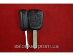 Ключ Citroen c1, c2, c3, c4, c5 berlingo корпус на 2 кнопки лезвие VA2 оригинал