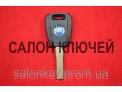 Fiat doblo, ducato, scudo, punto, fiorino ключ с местом под чип лезвие SIP22 оригинал Вид №1 Чёрный