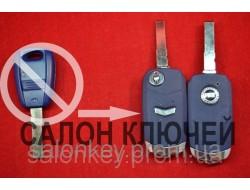 Fiat doblo, ducato, scudo, punto, fiorino ключ выкидной для переделки лезвие SIP22