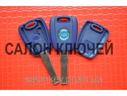 Fiat doblo, ducato, scudo, punto, fiorino ключ с местом под чип лезвие SIP22