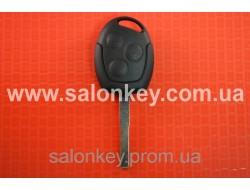 Ключ корпус Ford mondeo, focus, fiesta, fusion, 3 кнопки лезвие HU101