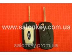 Выкидной ключ корпус Ford 3 кнопки лезвие SIP22 Вид Fiat