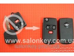 Ключ выкидной FORD 3 кнопки, для переделки из обычного ключа Лезвие FO39 Вид №2