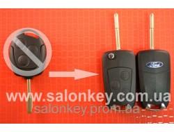 Ключ выкидной Ford 3 кнопки, для переделки из не выкидного ключа лезвие FO21 Вид №3
