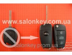 Выкидной ключ Ford 4D 434MHZ лезвие HU101 Вместо 3 кнопочного не выкидного Вид №2