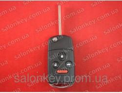Acura ключ выкидной 3+1 кнопки 313,8Mhz id46 FCC ID: OUOG8D-439H-A IC: 850G-G8D439HA