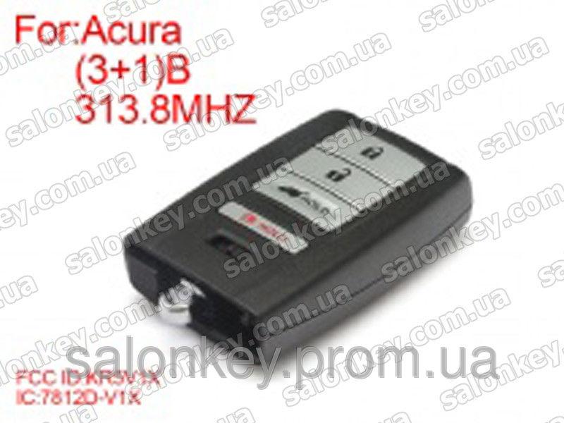 Смарт ключ Acura 313.8Mhz 3+1 кнопки