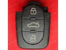 Audi кнопки 3 кн нижняя часть Под батарейку 1620