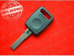 Ключ Ауди (key Audi) с местом под чип лезвие HU66