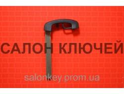 Bmw 5, 7 вставка для смарт ключа c 2009 г. Пластик
