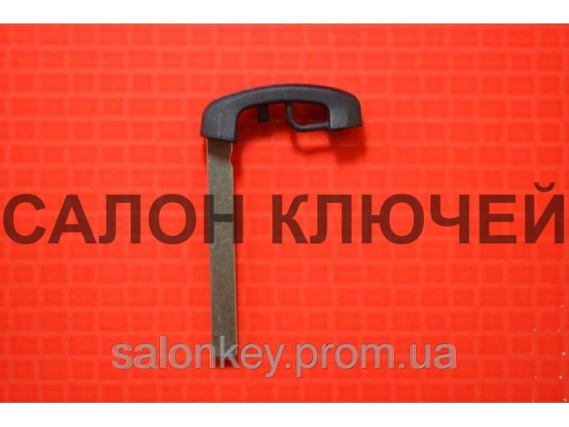 Ключ вставка для смарт ключа BMW с 2009г. Пластик