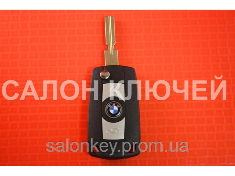 Выкидной ключ BMW для переделки из ключа ромбик, лезвие HU58 вид SMART