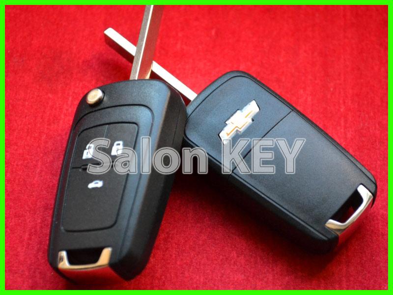 Выкидной ключ Chevrolet с 2010г. Оригинал без электроники.