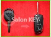 Ключ Chevrolet Lacetti улучшенный выкидной (Польша) 433Mhz 4D вид Citroen
