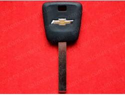 Ключ Chevrolet c местом под чип лезвие HU100