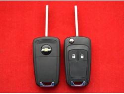 Ключ Chevrolet Cruze выкидной 2 кнопки