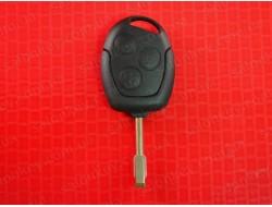 Ключ Ford 3 кнопки с чипом 433Mhz лезвие Fo21