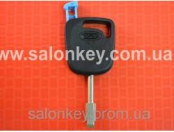 Ключ Ford transit, fiesta, focus, fusion, ka с чипом лезвие FO21