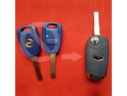 Выкидной ключ Фиат для переделки из обычного ключа
