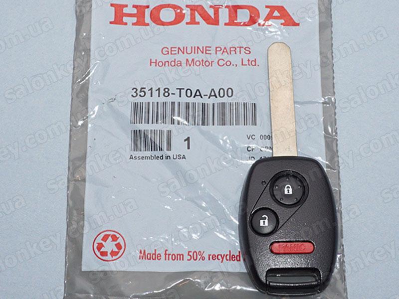 Key Honda 35118T0AA00