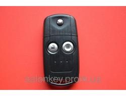 Honda civic, cr-v выкидной ключ 2 кнопки 434Mhz id46 оригинал