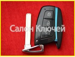 Оригинальный ключ HYUNDAI Santa Fe 2013-2018 PCF7952 ID46 433Mhz