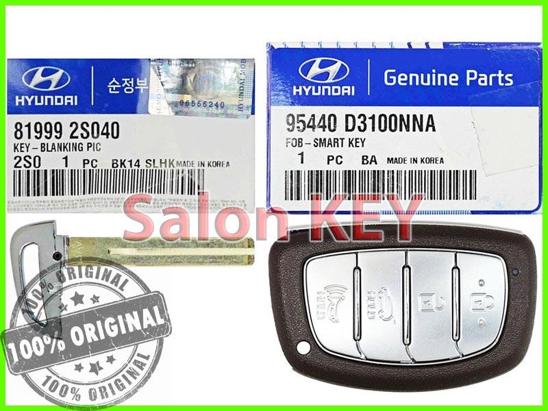 Ключ зажигания для Hyundai 95440 D3100NNA