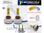 LED 3S H1, H3, H7, H11, H27, 9005, 9006 супер автомобильные лампы