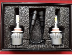 C6 HB4 (9006) LED COB HeadLight 6500K/16000LM Новогодняя Акция
