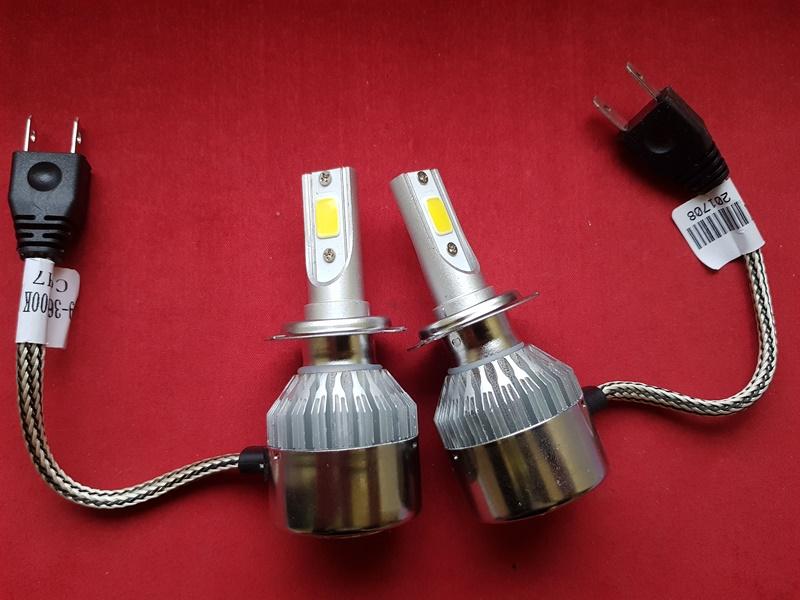 LED HeadLight C6 H7 автомобильные лед лампы 36W 16000Lumen