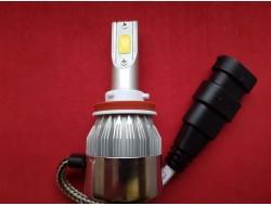 C6 H8 LED COB HeadLight 6500K/16000LM Новогодняя Акция