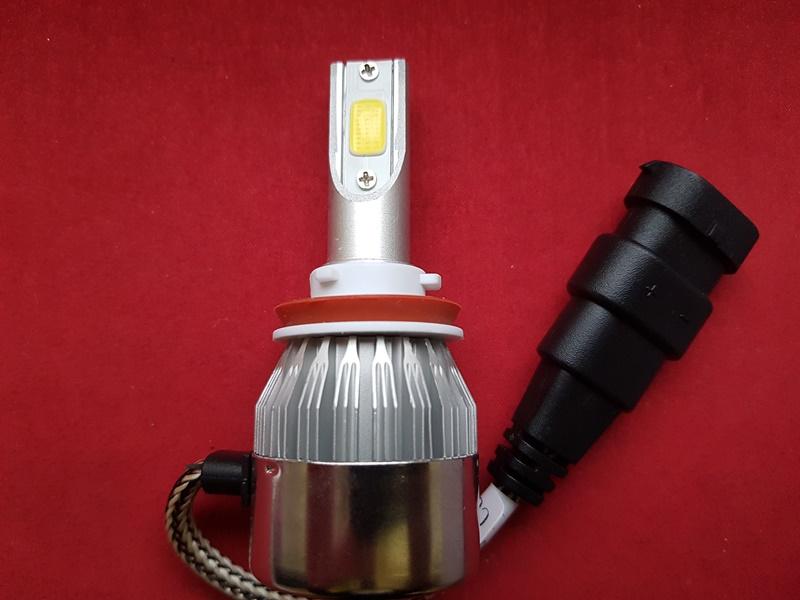LED HeadLight C6 H8 автомобильные лед лампы 36W 16000Lumen