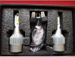 C6 H4 LED COB HeadLight 6500K/16000LM Новогодняя Акция