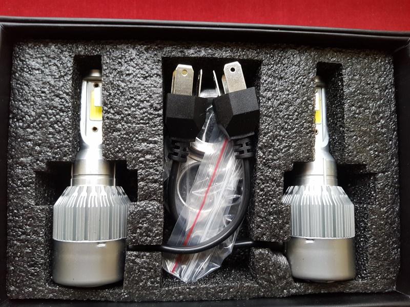 LED HeadLight C6 H4 автомобильные лед лампы 36W 16000Lumen