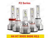 F2 H4 LED HeadLight 6000K 12000Lumen
