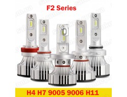 F2 H4 LED HeadLight 6000K 12000Lumen