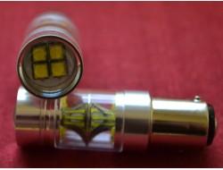 Супер Яркие LED 9G P21/5W 1157 BAY15D 100W CANBUS Samsung CREE 20 белый